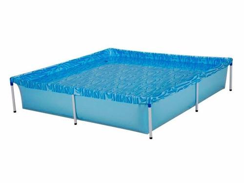 piscina mor estructural 1500 lts 1,89x1,89x0,42m - disershop