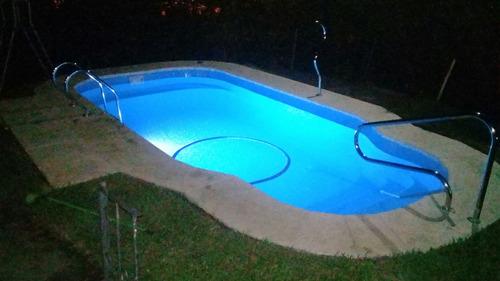 piscinas de fibra 7x3.5x1.4  instalada por expertos