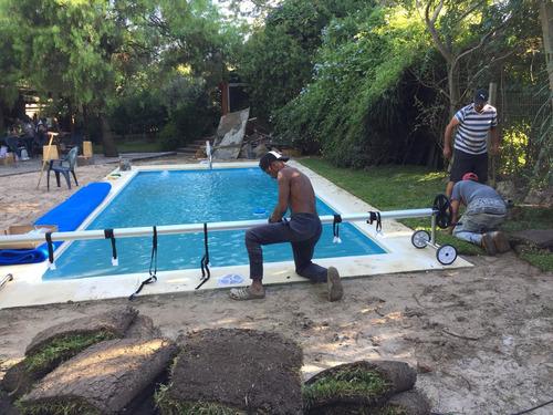 piscinas de fibra