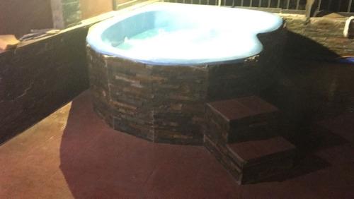 piscinas del sur 3 x 2 x 0.60 instalación completa.
