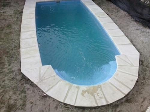 piscinas en fibra de vidrio ,venta y mantenimiento u$s 6900