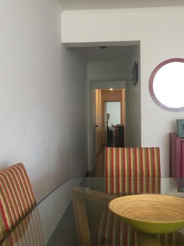 piso alto en av. sarmiento orientación norte 2 dormitorios
