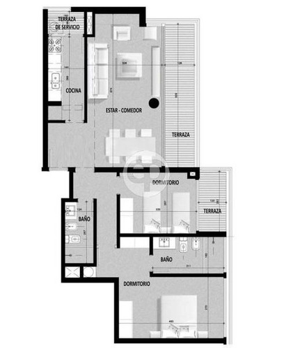 piso alto en roosevelt