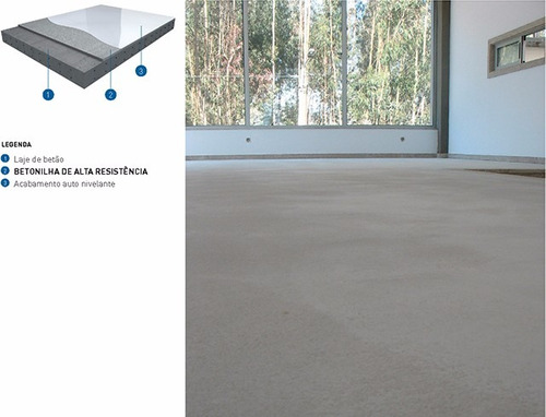 piso autonivelante gris protec
