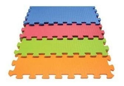 piso encastrable tatami goma eva baldosas 60 x 60 cm x4