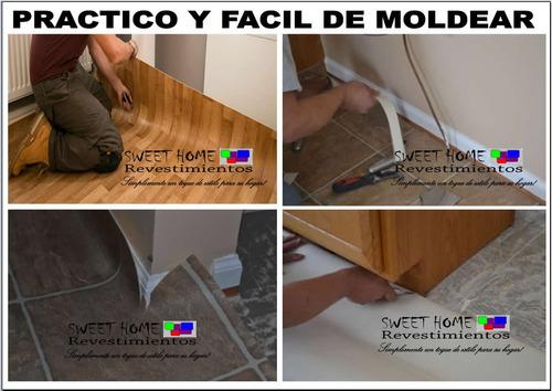piso vinilico texturado dos metros de ancho