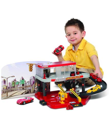 pista autos juguete auto