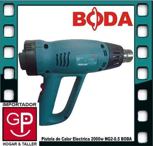 pistola de calor electrica 2000w  hg2-0.5  boda g p