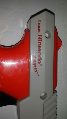 pistola nintendo nes original 1985 zapper made in japan impc