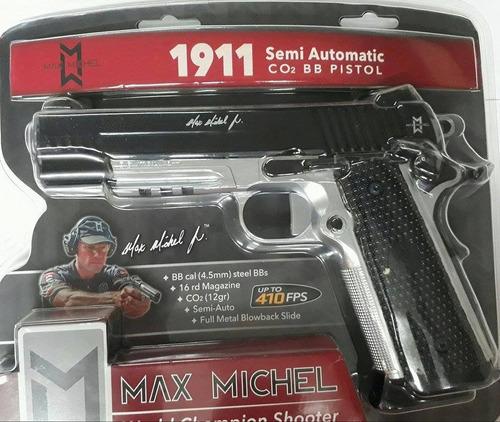 pistola sig sauer max michel 1911 full metal blowback