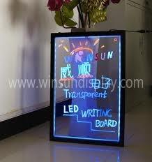 pizarra led cartel luminoso 60x40 +controlador+marcadores!