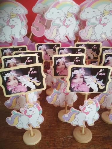 pizzarras souvenirs de unicornios