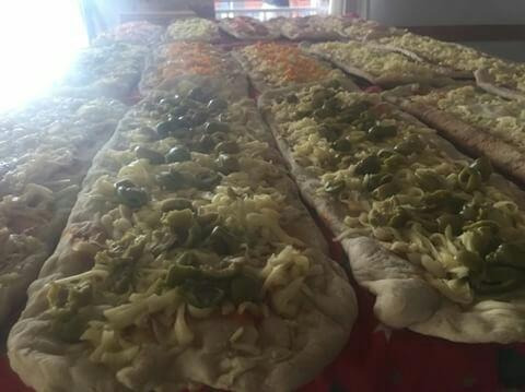 pizzas eventos servicio