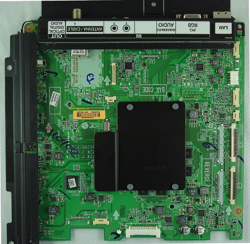 placa base tv led smart 3d lg lm7600 47lm7600