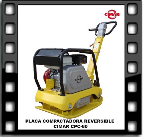 placa compactadora reversible cimar cpc-60