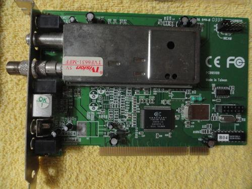 placa de captura tv e fm