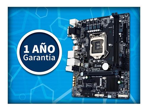placa madre gigabyte ga-h110m-s2ph ddr4 envio gratis