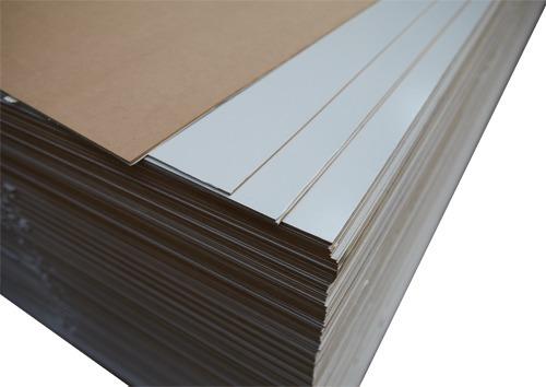 placa mdf una cara blanca 3 mm  ideal fondo muebles