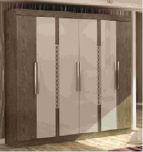 placard ropero 6 puertas dos cajones dormitorio !! oferta !!