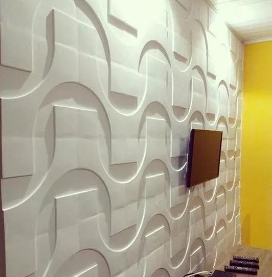 Placas de yeso antihumedad y decorativas 700 00 en mercado libre - Placas de yeso para pared ...