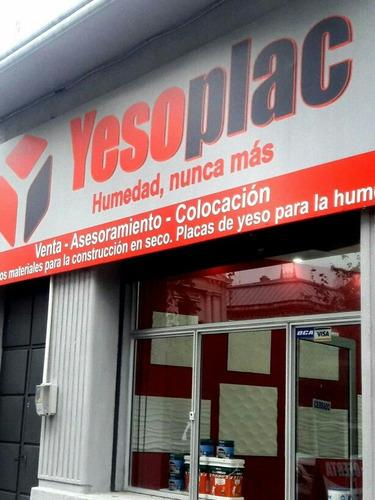 placas de yeso decorativas antihumedad modelo pizarra