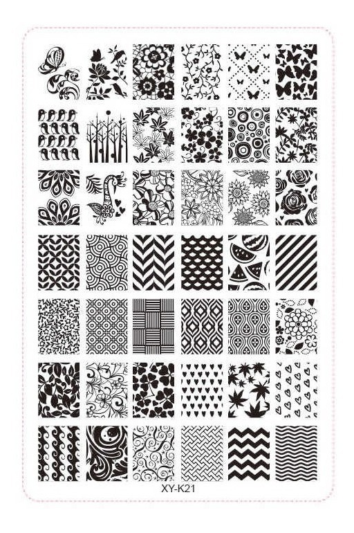 Placas Stamping Uñas