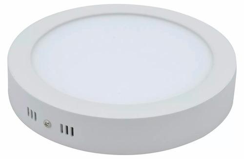 plafon led redondo 12w 17cm luz frio/calido