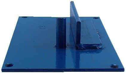 plancha dobladora de varilla de hierro para estribos 25mm