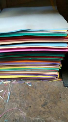 planchas de goma eva de 42 x 60cm de segunda