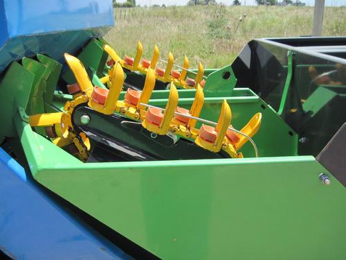 plantadora de papas con fertilizador