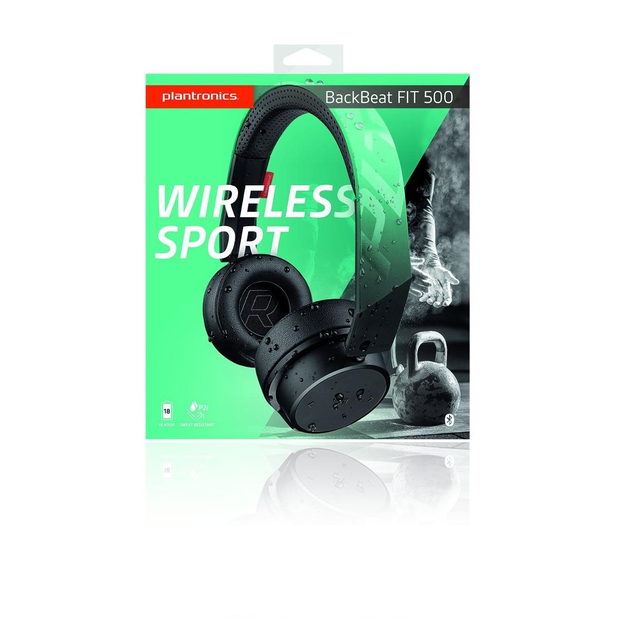 fc3d712ef59 plantronics backbeat fit 500 on ear sport headphones. Cargando zoom.