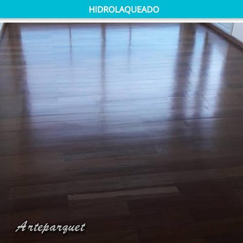 plastificado de pisos, pulidos, hidrolaqueados, parquet