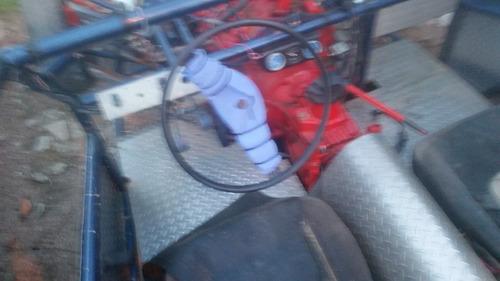 plataforma arenero motor v8