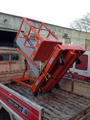 plataforma de trabajo en aluminio equus 10m