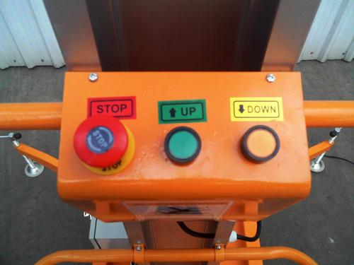 plataforma elevacion andamio electrico autoelevador