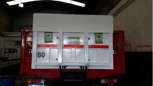 plataforma pala hidraulica para camión