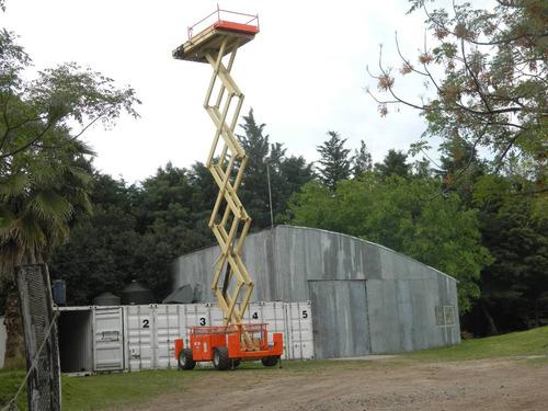 plataforma tijera  jlg 4 x 4  gas oil