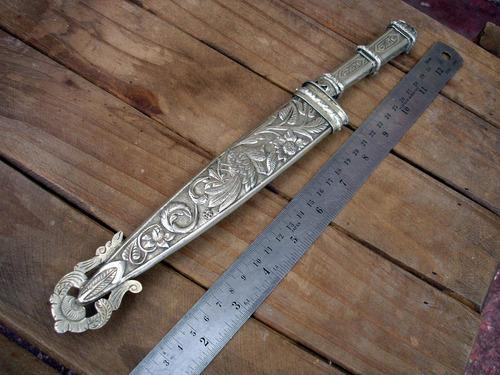 plateria criolla cuchillo  año 1800 1898