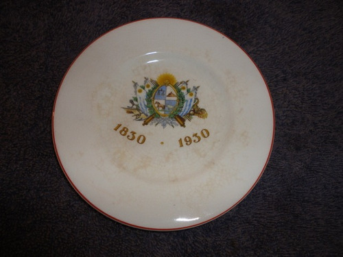 plato antiguo centenario del año 1930  consulte envios