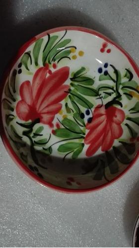 plato ceramica pintado a mano