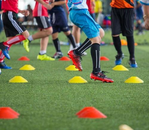 plato conos entrenamiento coordinacion fútbol 12cms crazyfit