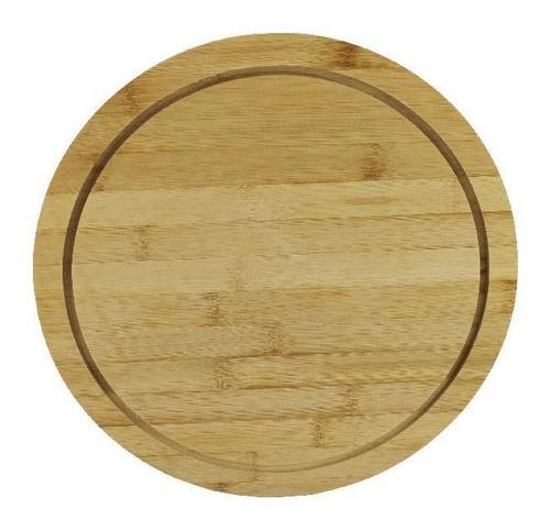plato de madera 30 cm