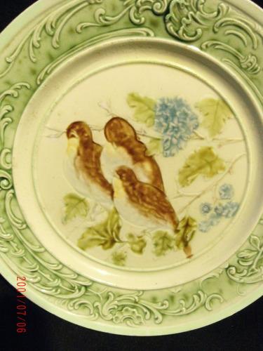 plato francés siglo xix