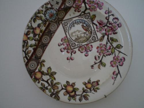 platos antiguos, sello de autentic