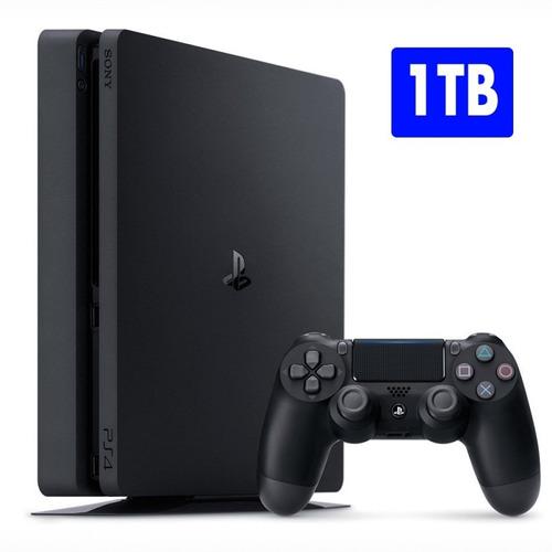 playstation 4 - 1 tera - nuevos con garantia + fortnite