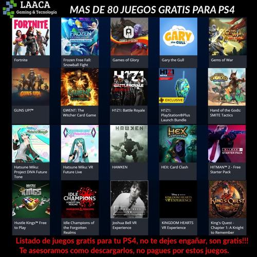 playstation 4 slim 1tb fifa 19+fortnite+apex+80juegos laaca