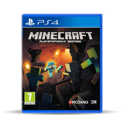 playstation 4 slim 1tb + minecraft, macrotec