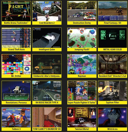 playstation classic - entrega inmediata - laaca games