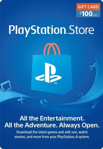 playstation store tarjeta 100 dolares código psn region eeuu