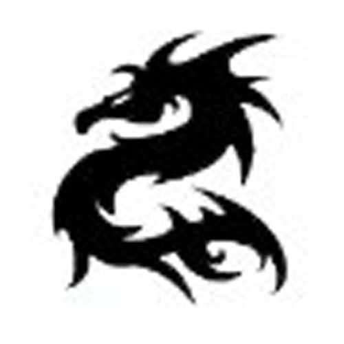 plotters dragon tribal 20x20 cm hi definition.